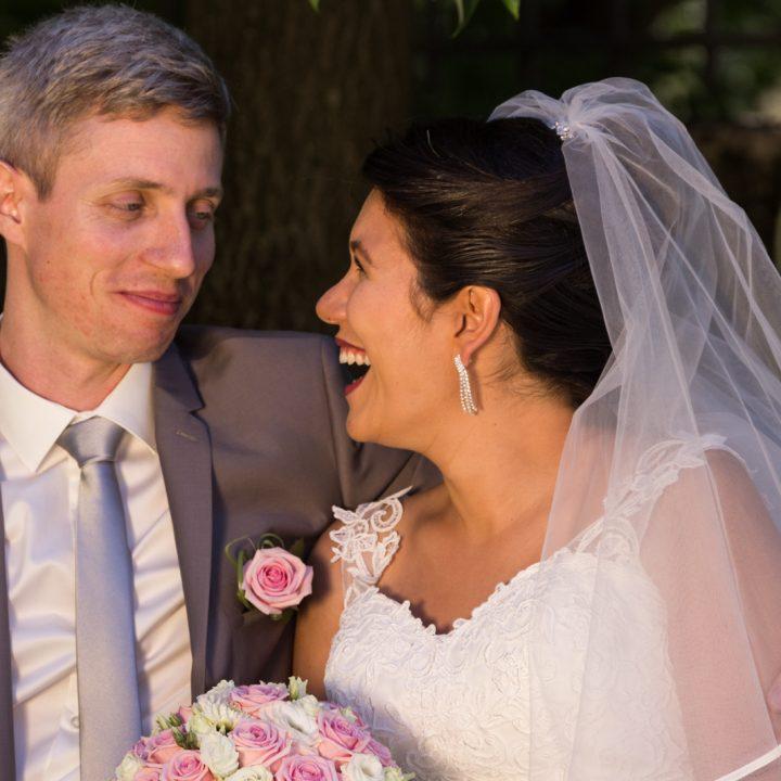 L'émouvant mariage de Caroline et Yannick à Gaillard