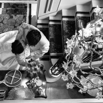 Le beau mariage de Ruoxi et Guillaume à l'hôtel des Trésoms à Annecy