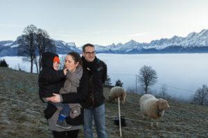 destination Mont Blanc photo famille