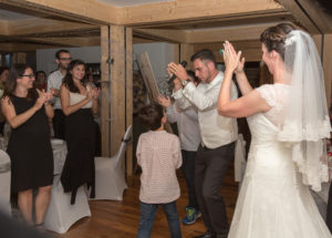 photoreportage les Houches mariage