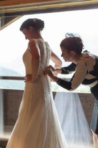 Préparatifs de la mariée Les Houches