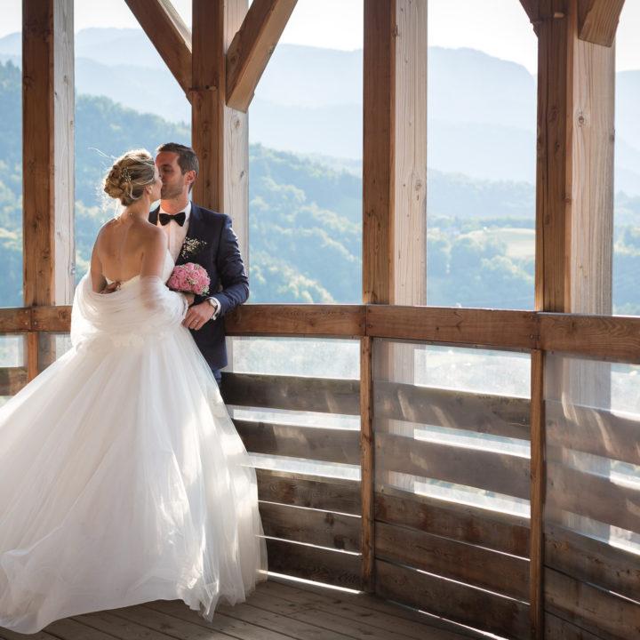 Mariage romantique au château de Faverges