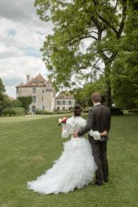 photos mariage château de Boucq