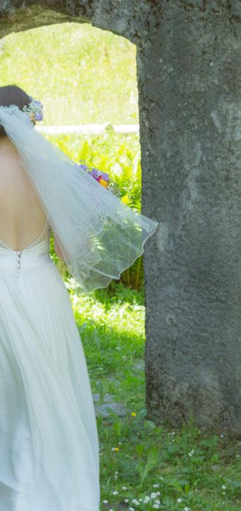 Quelques images d'un joli mariage aux Contamines Montjoie