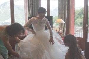photographe mariage Annecy hôtel des Trésoms