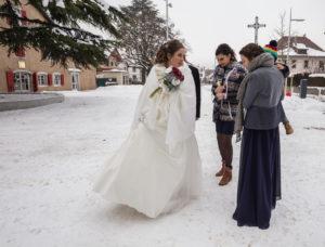 photographe Cluses, se marier en hiver