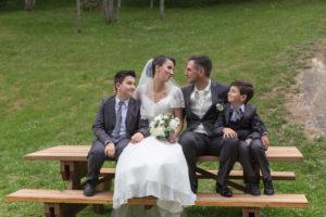 photo mariage lac des Chavants