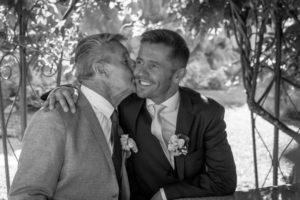 Le marié et son père
