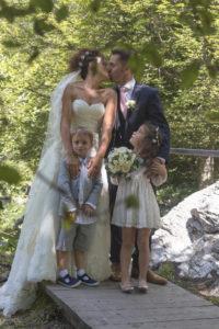 photographe mariage au Lac Vert à Passy