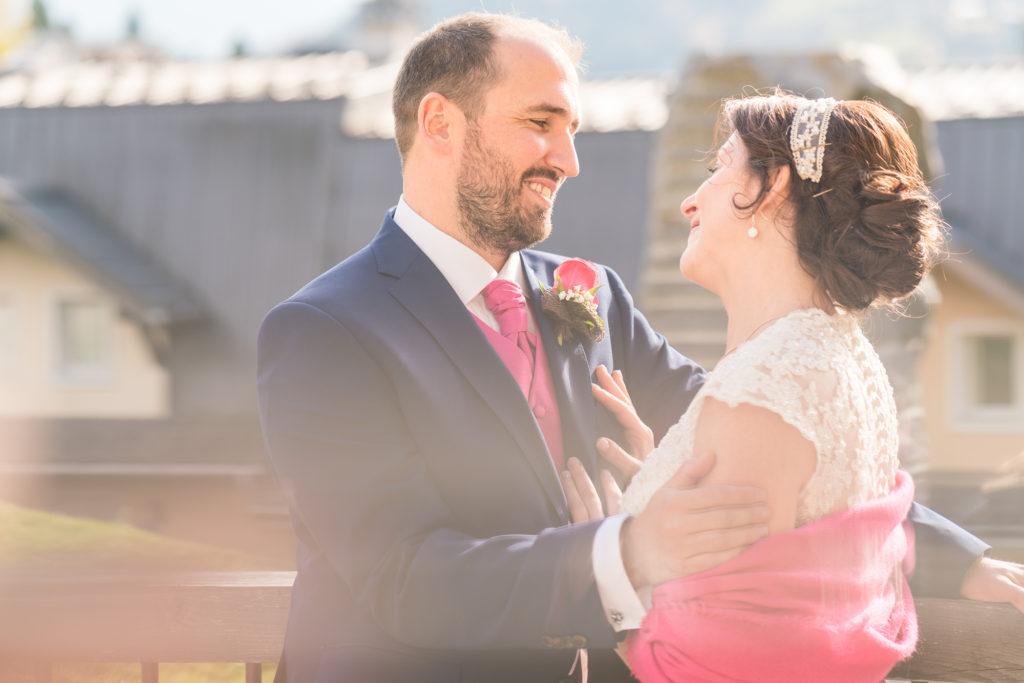photographe mariage à Saint Gervais en Haute Savoie