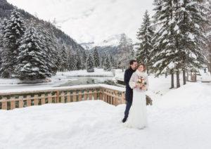 mariage hiver Haute Savoie