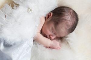 séance photo bébé de 12 jours