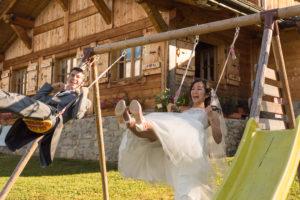 Se marier face au Mont Blanc