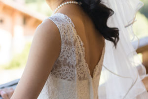 Jolie robe de la mariée