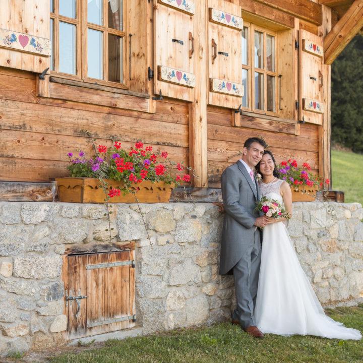 Se marier face au Mont Blanc à Cordon