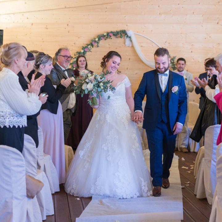 Mariage à Draillant à la ferme du château